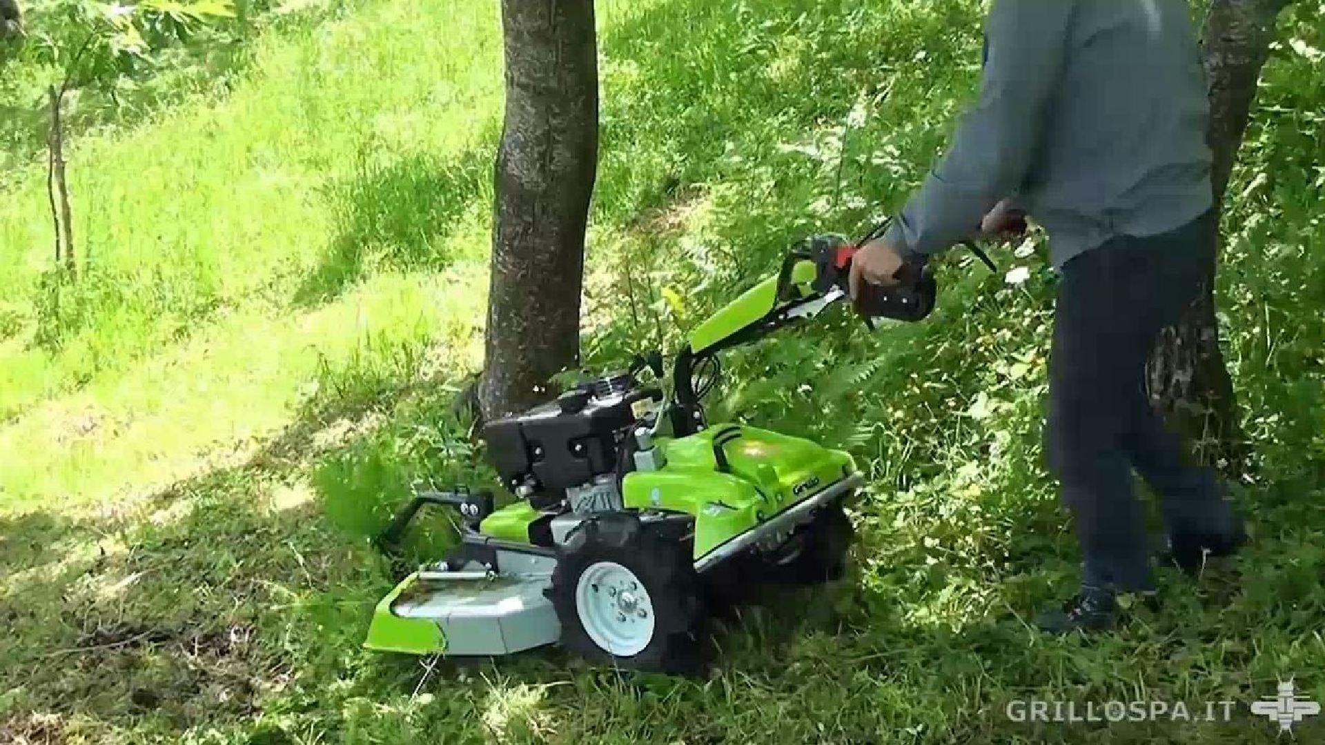Сенокосилка для высокой травы своими руками 48